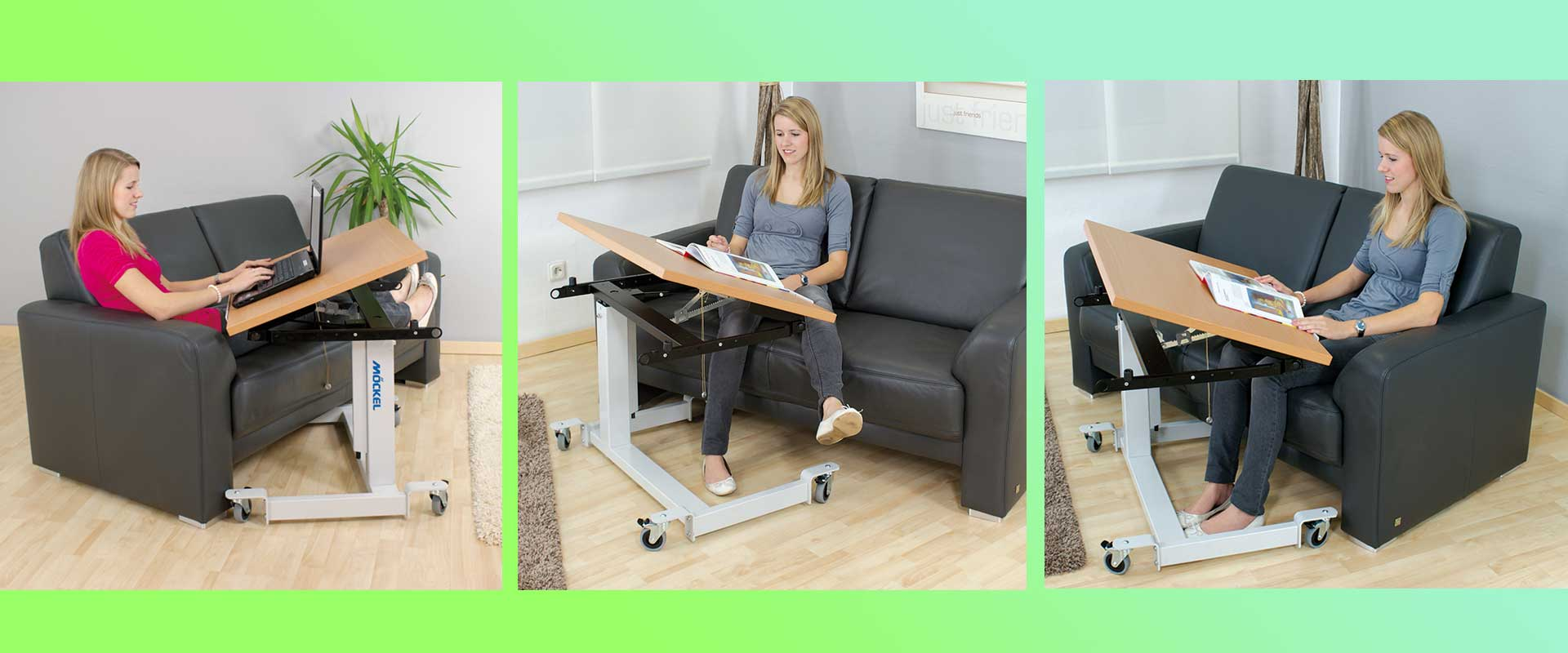single column therapy table EP2
